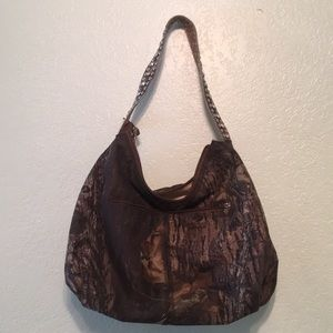 Handbags - Camo rhinestone purse